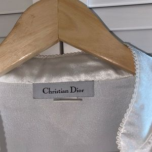 Dior Tops - Christian Dior Silk Button Down Top